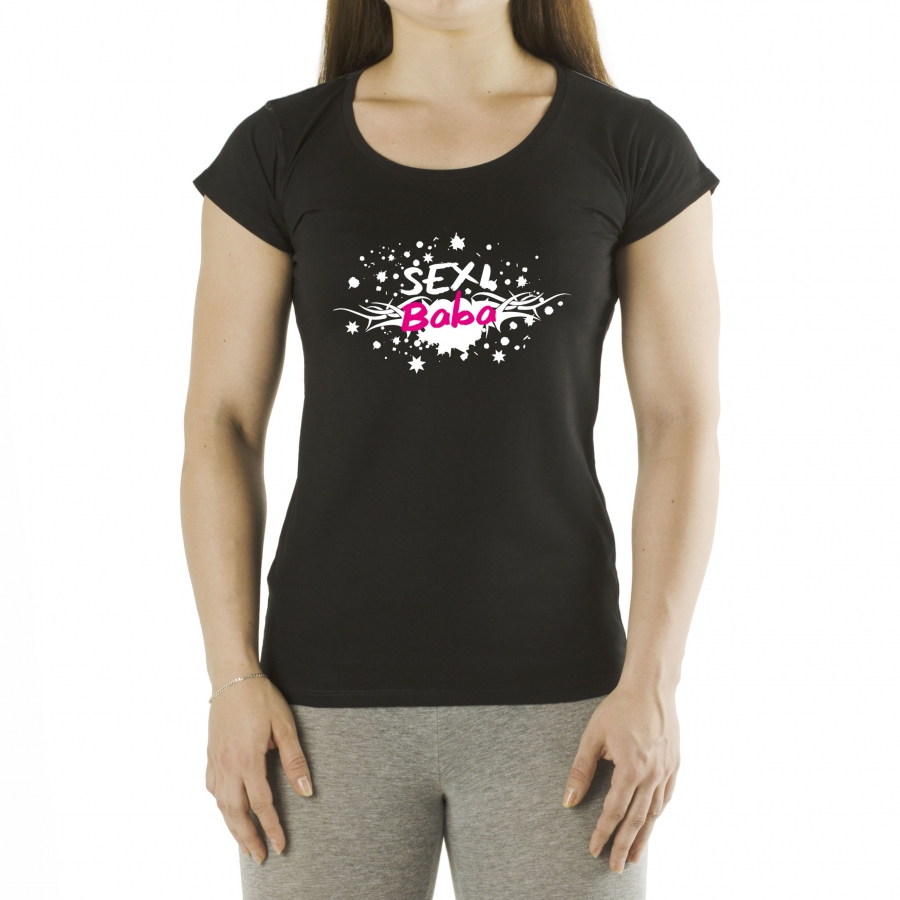 7cd2673d6 Zábavné a 3D tričká | Dámske tričko - Sexi baba typ 2 | NajDarčeky.eu