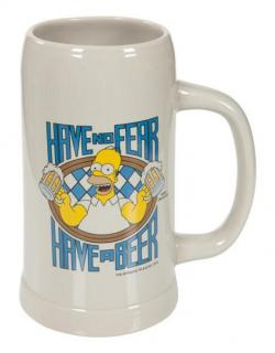 Simpsons krígeľ Have no Fear - 1 liter