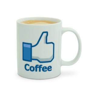 Facebookový hrnček Like Coffee 300ml