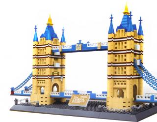 Mega stavebnica Wange - Tower Bridge
