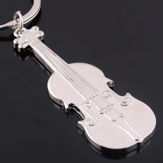 Hudobný prívesok na kľúče - husle empty 0121a8f4e72