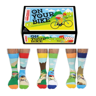 United Odd Socks Veselé ponožky On Your Bike